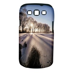 Winter Lake Cold Wintry Frozen Samsung Galaxy S Iii Classic Hardshell Case (pc+silicone)