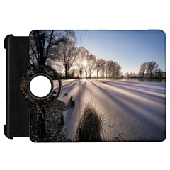 Winter Lake Cold Wintry Frozen Kindle Fire Hd 7