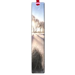 Winter Lake Cold Wintry Frozen Large Book Marks