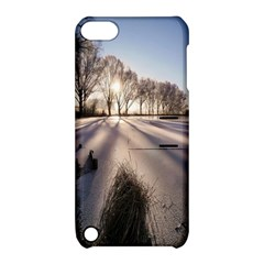 Winter Lake Cold Wintry Frozen Apple Ipod Touch 5 Hardshell Case With Stand