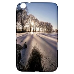 Winter Lake Cold Wintry Frozen Samsung Galaxy Tab 3 (8 ) T3100 Hardshell Case