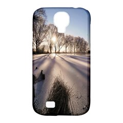Winter Lake Cold Wintry Frozen Samsung Galaxy S4 Classic Hardshell Case (pc+silicone)