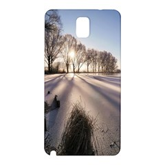 Winter Lake Cold Wintry Frozen Samsung Galaxy Note 3 N9005 Hardshell Back Case