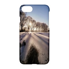Winter Lake Cold Wintry Frozen Apple Iphone 8 Hardshell Case