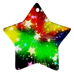 Star Abstract Pattern Background Ornament (star)