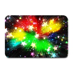 Star Abstract Pattern Background Plate Mats