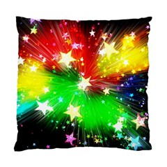 Star Abstract Pattern Background Standard Cushion Case (two Sides)