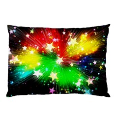 Star Abstract Pattern Background Pillow Case