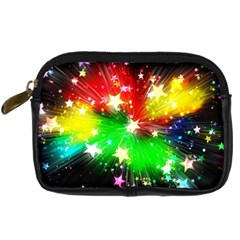 Star Abstract Pattern Background Digital Camera Cases