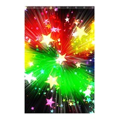 Star Abstract Pattern Background Shower Curtain 48  X 72  (small)