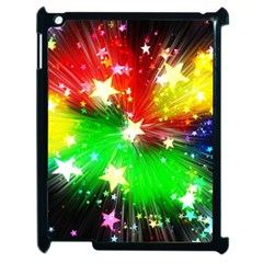 Star Abstract Pattern Background Apple Ipad 2 Case (black)