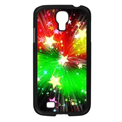 Star Abstract Pattern Background Samsung Galaxy S4 I9500/ I9505 Case (black)