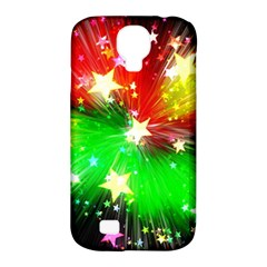 Star Abstract Pattern Background Samsung Galaxy S4 Classic Hardshell Case (pc+silicone)