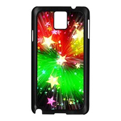 Star Abstract Pattern Background Samsung Galaxy Note 3 N9005 Case (black)