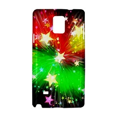 Star Abstract Pattern Background Samsung Galaxy Note 4 Hardshell Case