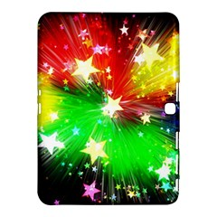 Star Abstract Pattern Background Samsung Galaxy Tab 4 (10 1 ) Hardshell Case