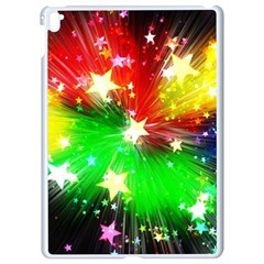 Star Abstract Pattern Background Apple Ipad Pro 9 7   White Seamless Case