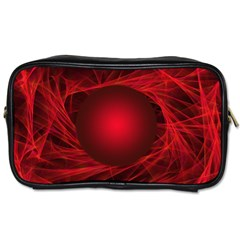 Abstract Scrawl Doodle Mess Toiletries Bags