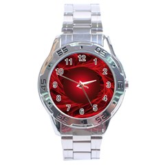Abstract Scrawl Doodle Mess Stainless Steel Analogue Watch