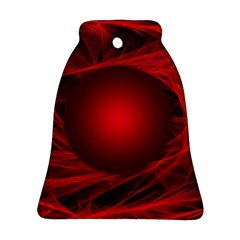 Abstract Scrawl Doodle Mess Bell Ornament (two Sides)