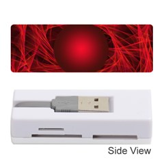 Abstract Scrawl Doodle Mess Memory Card Reader (stick)