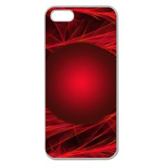 Abstract Scrawl Doodle Mess Apple Seamless Iphone 5 Case (clear)