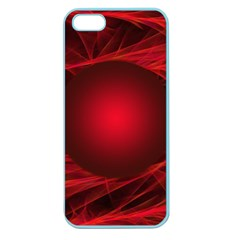 Abstract Scrawl Doodle Mess Apple Seamless Iphone 5 Case (color)
