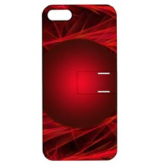 Abstract Scrawl Doodle Mess Apple Iphone 5 Hardshell Case With Stand