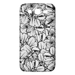 White Leaves Samsung Galaxy Mega 5 8 I9152 Hardshell Case