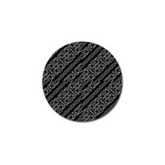 Tribal Stripes Pattern Golf Ball Marker (10 Pack)