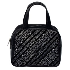 Tribal Stripes Pattern Classic Handbags (one Side)