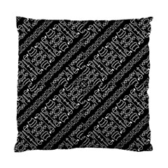 Tribal Stripes Pattern Standard Cushion Case (two Sides)