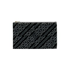 Tribal Stripes Pattern Cosmetic Bag (small)