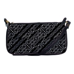 Tribal Stripes Pattern Shoulder Clutch Bags