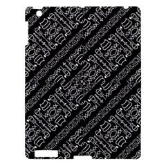 Tribal Stripes Pattern Apple Ipad 3/4 Hardshell Case
