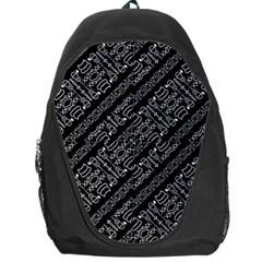 Tribal Stripes Pattern Backpack Bag
