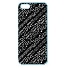 Tribal Stripes Pattern Apple Seamless Iphone 5 Case (color)