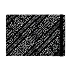 Tribal Stripes Pattern Apple Ipad Mini Flip Case