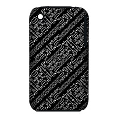 Tribal Stripes Pattern Iphone 3s/3gs