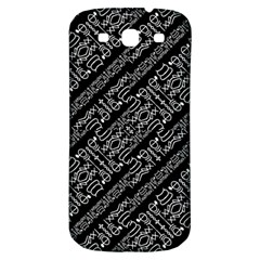 Tribal Stripes Pattern Samsung Galaxy S3 S Iii Classic Hardshell Back Case