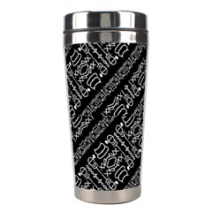 Tribal Stripes Pattern Stainless Steel Travel Tumblers