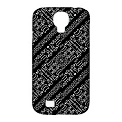 Tribal Stripes Pattern Samsung Galaxy S4 Classic Hardshell Case (pc+silicone)