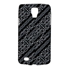 Tribal Stripes Pattern Galaxy S4 Active