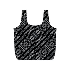 Tribal Stripes Pattern Full Print Recycle Bags (s)