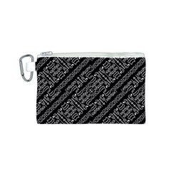 Tribal Stripes Pattern Canvas Cosmetic Bag (s)
