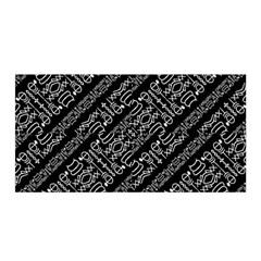 Tribal Stripes Pattern Satin Wrap