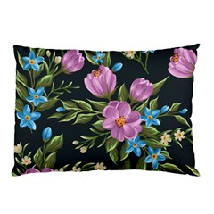 Beautiful Floral Pattern Pillow Case (two Sides)