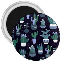 Cactus Pattern 3  Magnets