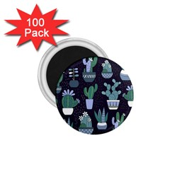 Cactus Pattern 1 75  Magnets (100 Pack)
