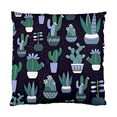 Cactus Pattern Standard Cushion Case (two Sides)